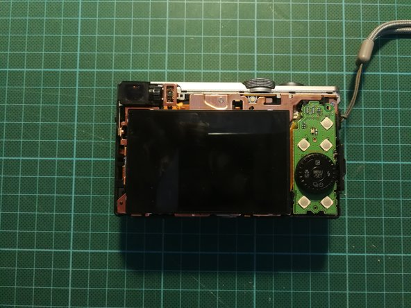 The backbody is lose now, remove it carefully and it reveals the controls and the display