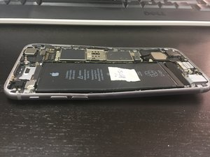 Recover data from a severly damaged iPhone 6s Logic board bend.  iPhone 6s  iFixit