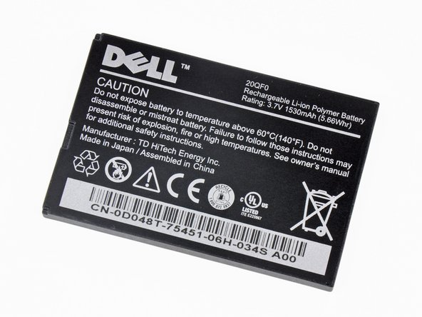 "Image 2/3: The fact that Dell didn't [link|http://www.dell.com/content/products/productdetails.aspx/mobile-streak?c=us&l=en&s=dhs|publish] the battery life hints at the fact that it isn't too great. What do you expect from a 5"" display?"