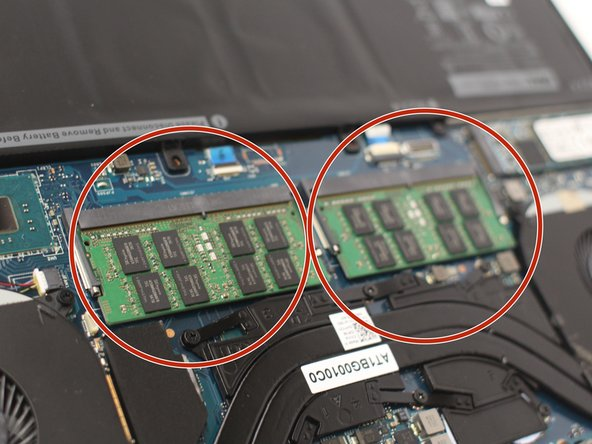 There are 2 separate RAM sticks.