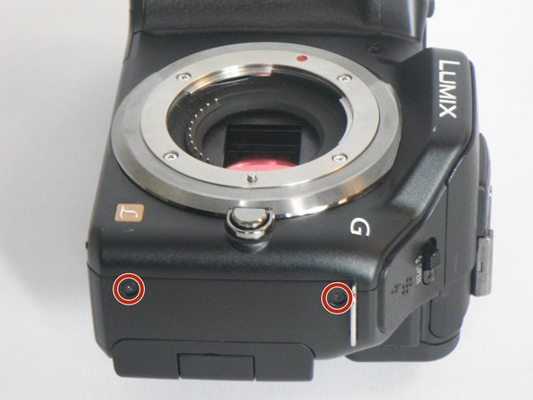 Panasonic Lumix DMC-G5 Diopter Adjustment Dial Replacement