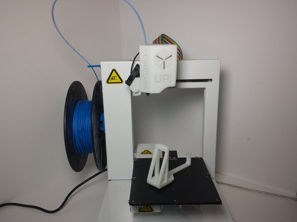 Before your spool holder breaks, 3D print a replacement to have on hand. If you didn't preemptively print a replacement you can still print without a spool holder. Just find some way of holding the spool so that it can rotate as the filament gets pulled off.