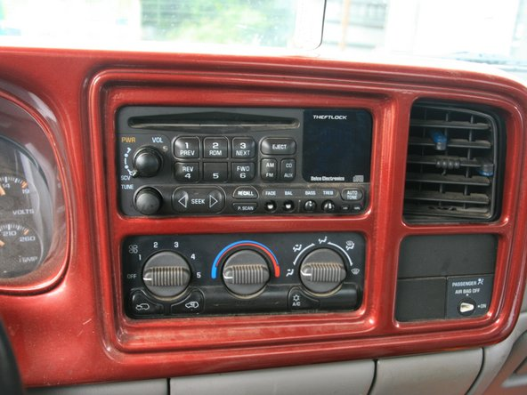 1999 GMC Sierra Radio Replacement Radio Replacement