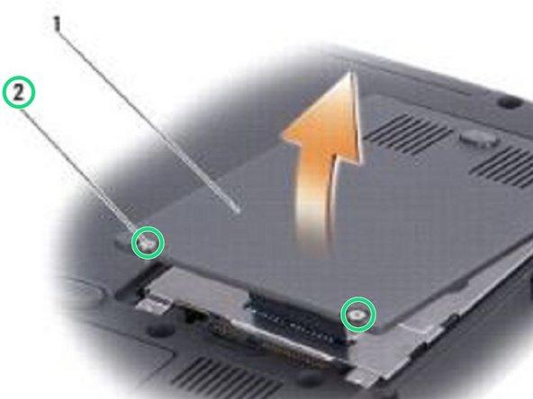 Dell Inspiron 1420 Reemplazo del Disco Duro