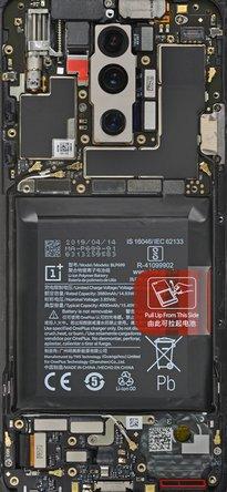 OnePlus 7 Pro teardown wallpaper