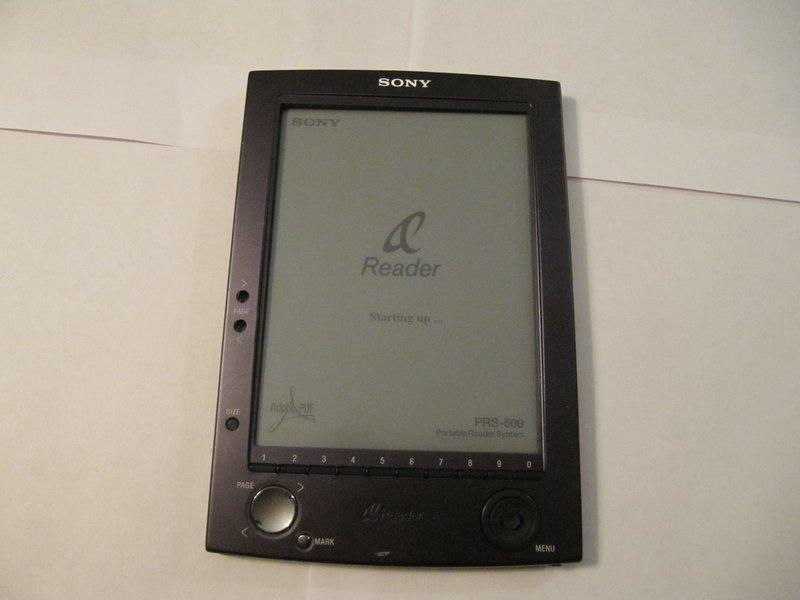 sony prs 500 repair ifixit rh ifixit com sony reader prs 505 manual Sony Reader PRS-300