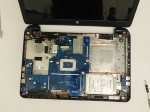 HP 15-R263DX Disassembly