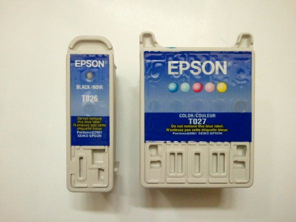 Epson Stylus Photo 820 Ink Cartridges Replacement