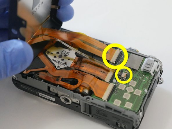 Do not remove rear cover yet. It is still attached to the Main PCB.