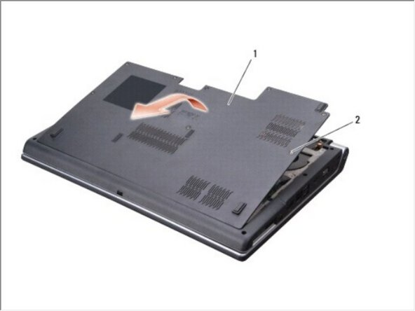 Dell Studio 1735 Base Cover Replacement