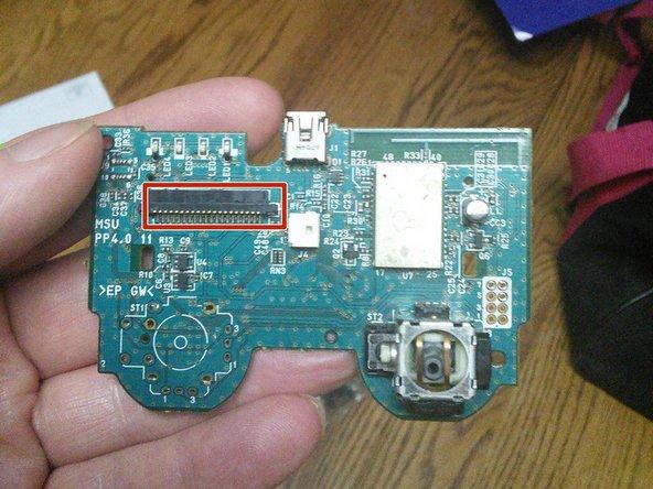 De-solder the four (4) potentiometer through hole mounts.