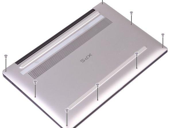 Remplacement du panneau arrière sur Dell XPS 13 9380