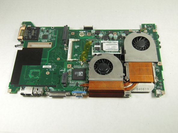 Toshiba Satellite A75-S226 Fans Replacement