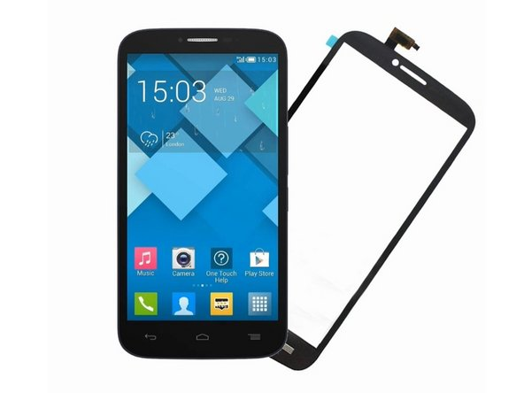 Alcatel POP C9 OT7047 Touch Screen Glass Digitizer Replacement
