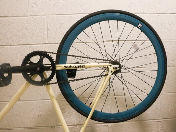 Replacing Cog and Lockring on the Rear Wheel of a Retrospec Fixed-Gear Bicycle