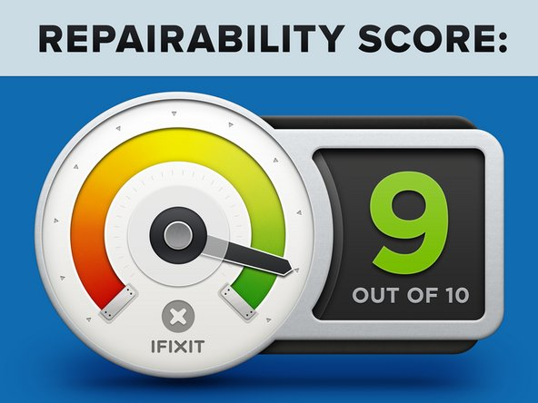 Project Tango Repairability Score: 9 out of 10 (10 is easiest to repair).