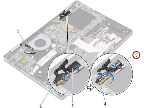 Dell Inspiron 13 7378 Display Assembly Replacement
