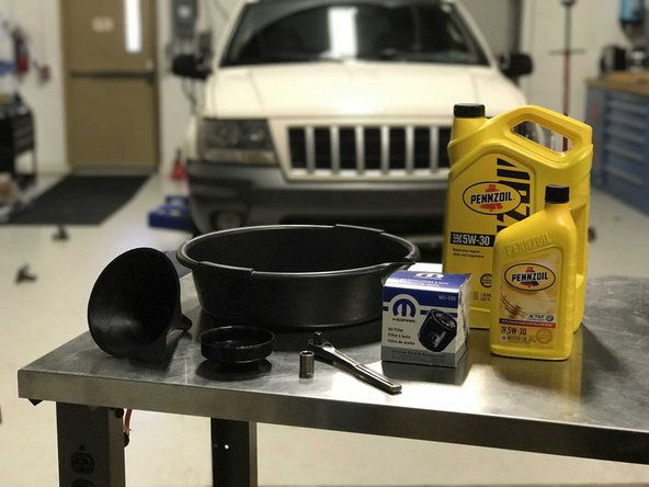 1999-2004 Jeep Grand Cherokee WJ Oil and Oil Filter  Replacement