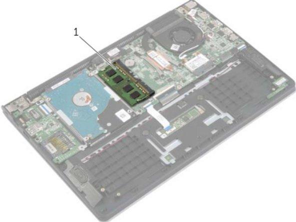 Dell Inspiron 11-3138 Reemplazo de módulos de memoria