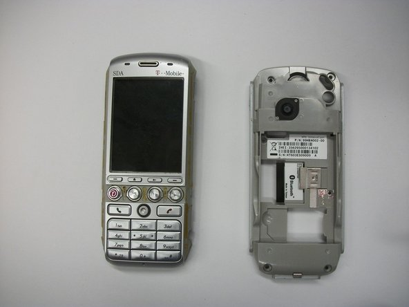 T-Mobile SDA (HTC Tornado) Rear Phone Casing Replacement