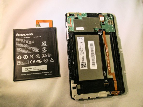 Lenovo Tab 2 A8 Battery Replacement