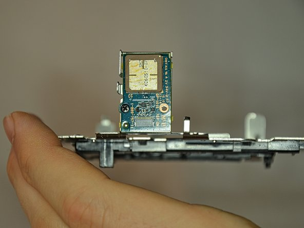 Be careful with the GPS module when pulling out the baseplate.