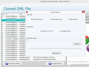 EML to Outlook pst Commercialism Means to Convert EML File to PST Format Without Outlook