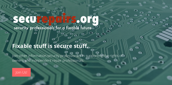 securepairs.org supports right to repair