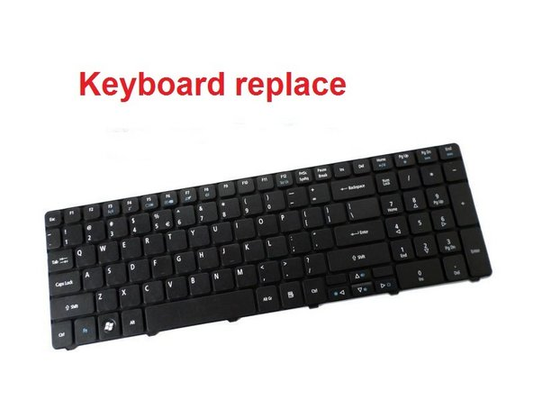 Acer Aspire 5749 KeyBoard Replacement