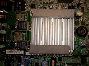 Cisco 878 Integrated Services Router SHDSL Filter Module Disassembly