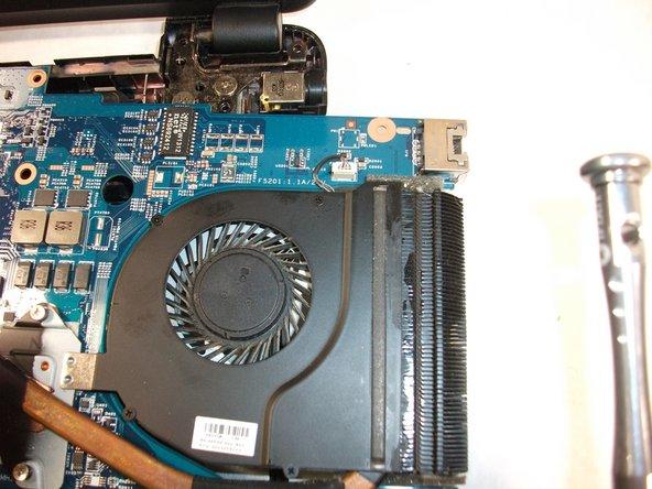 Gateway MS2370 Fan Replacement