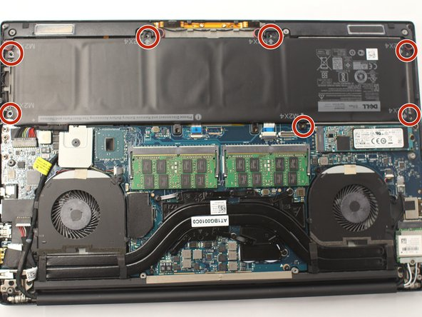 Dell XPS 15 9550 Battery Replacement - iFixit Repair Guide