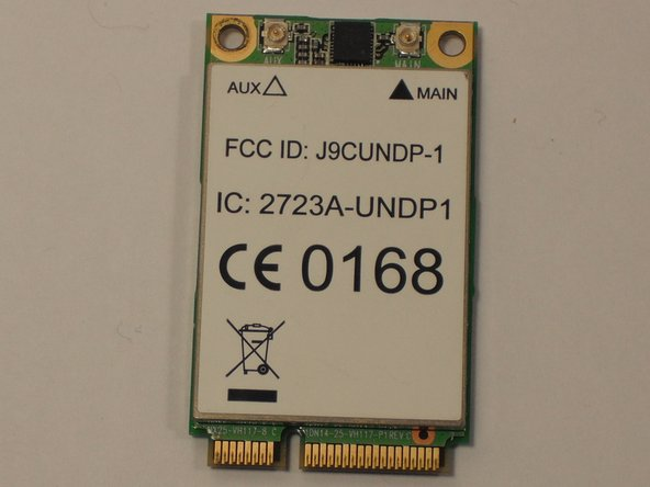 Remplacement de la carte WLAN du Acer Aspire One ZG5