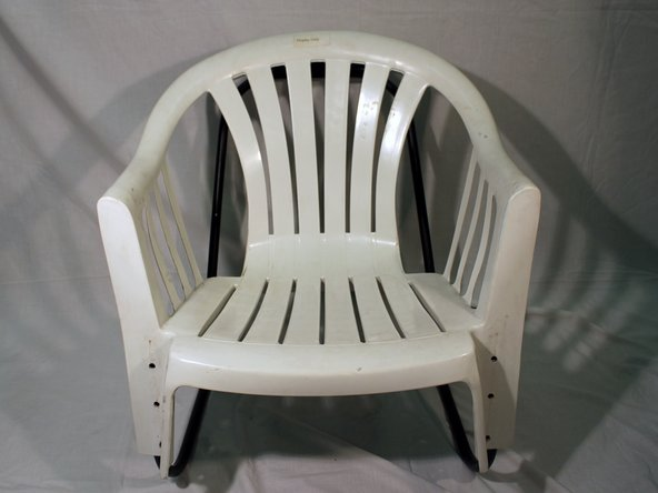 Image 3/3: Make sure the rear legs of the lawn chair are inside the frame and the back of front legs line up with the holes on the front of the frame