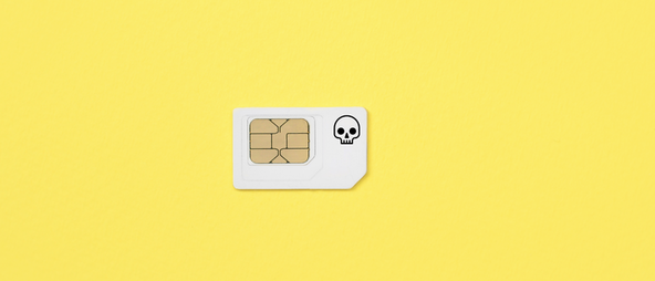 Smartphone data sim card
