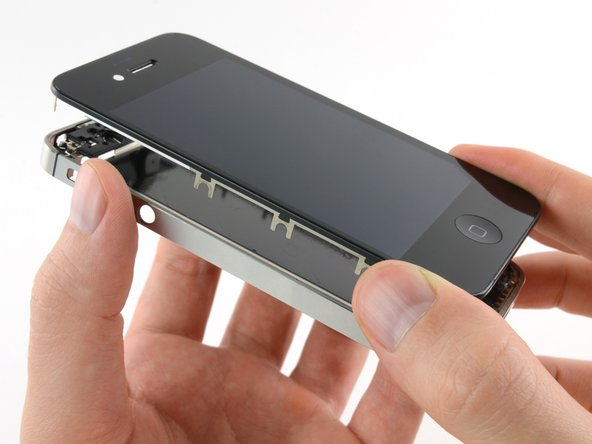 Remove the display assembly from the iPhone.
