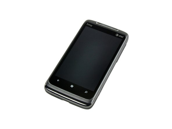 Image 1/2: The Surround is also among the first smartphones to use the Windows Phone 7 Operating System.