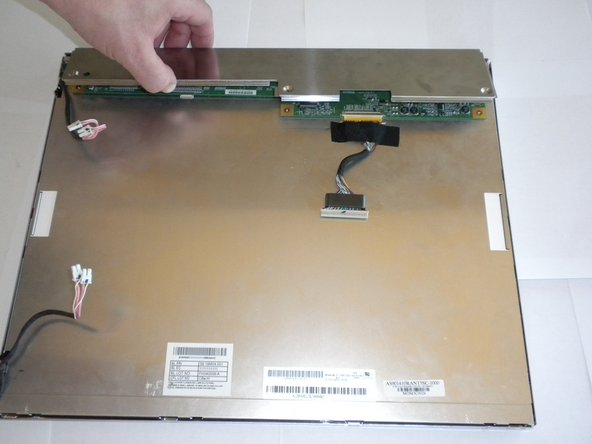 Lift the inner panel to remove it.