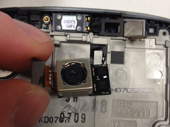 LG G3 Rear Facing Camera Replacement