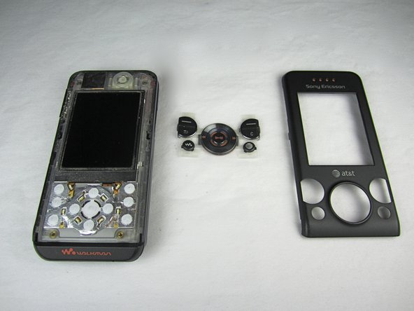 Sony Ericsson W580i Front Cover Replacement