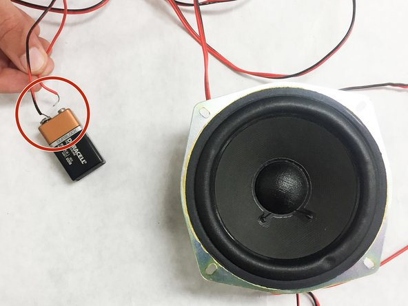 If a pulse is generated in the speaker then the speaker is still functioning properly.