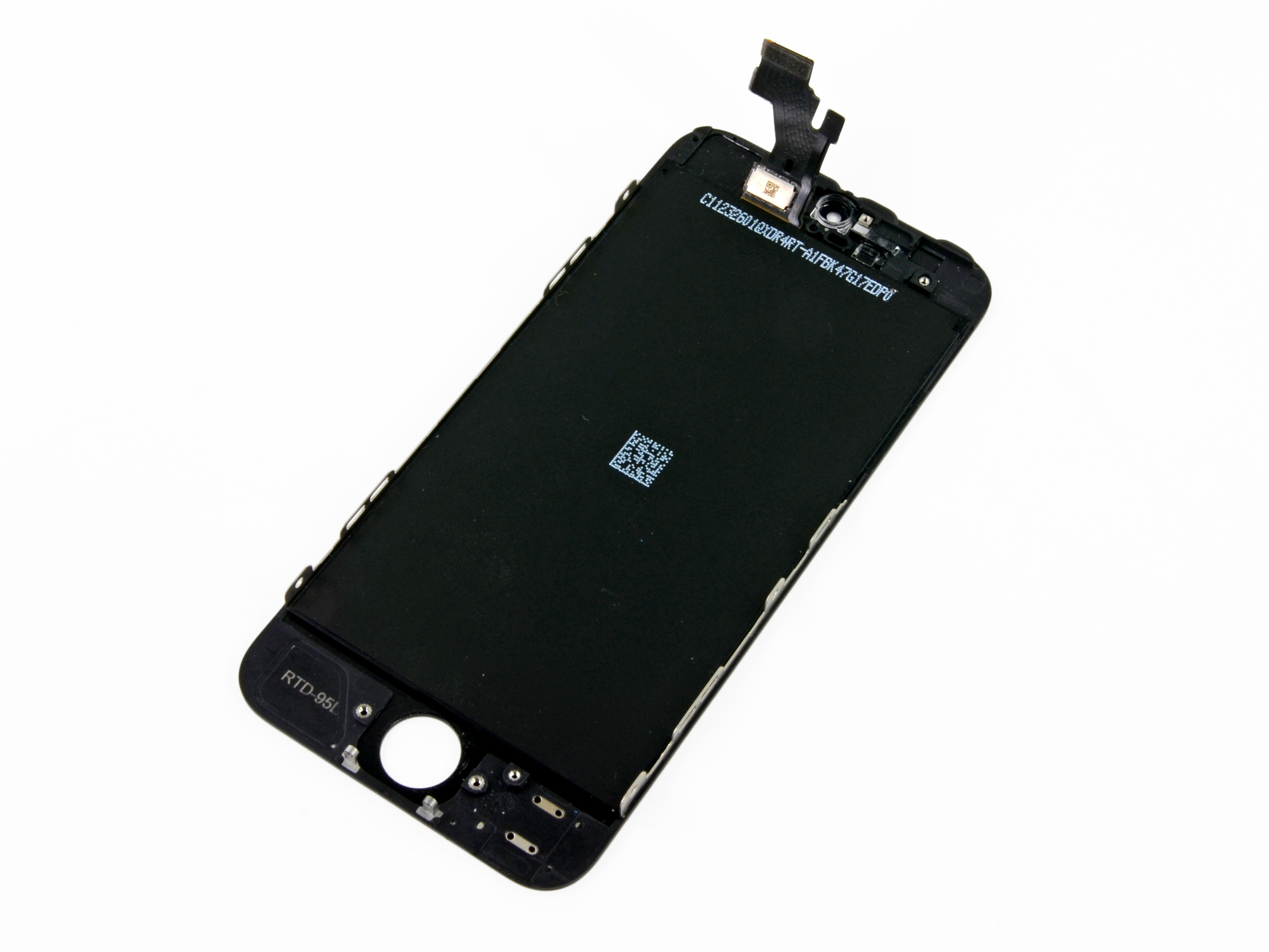 iphone 5c screen popped out iphone 5 front panel replacement ifixit repair guide 9231