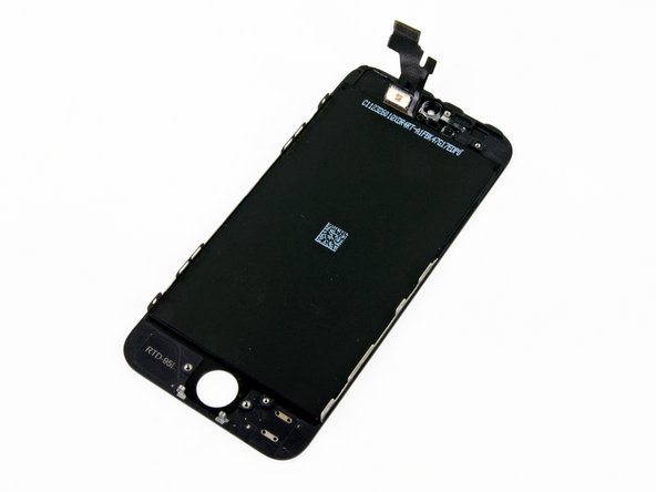 iphone 5s front screen replacement iphone 5 lcd and digitizer replacement ifixit repair guide 17474