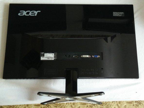 Acer Thin Bezel Monitor Disassembly