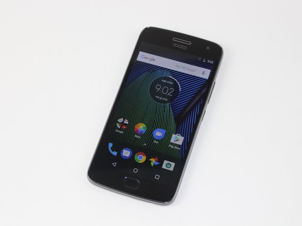 Motorola Moto G5 Plus Front Facing Camera Replacement