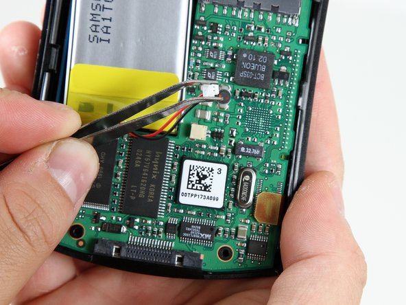 Gently remove the battery from the motherboard using your thumb and forefinger to pull upwards.