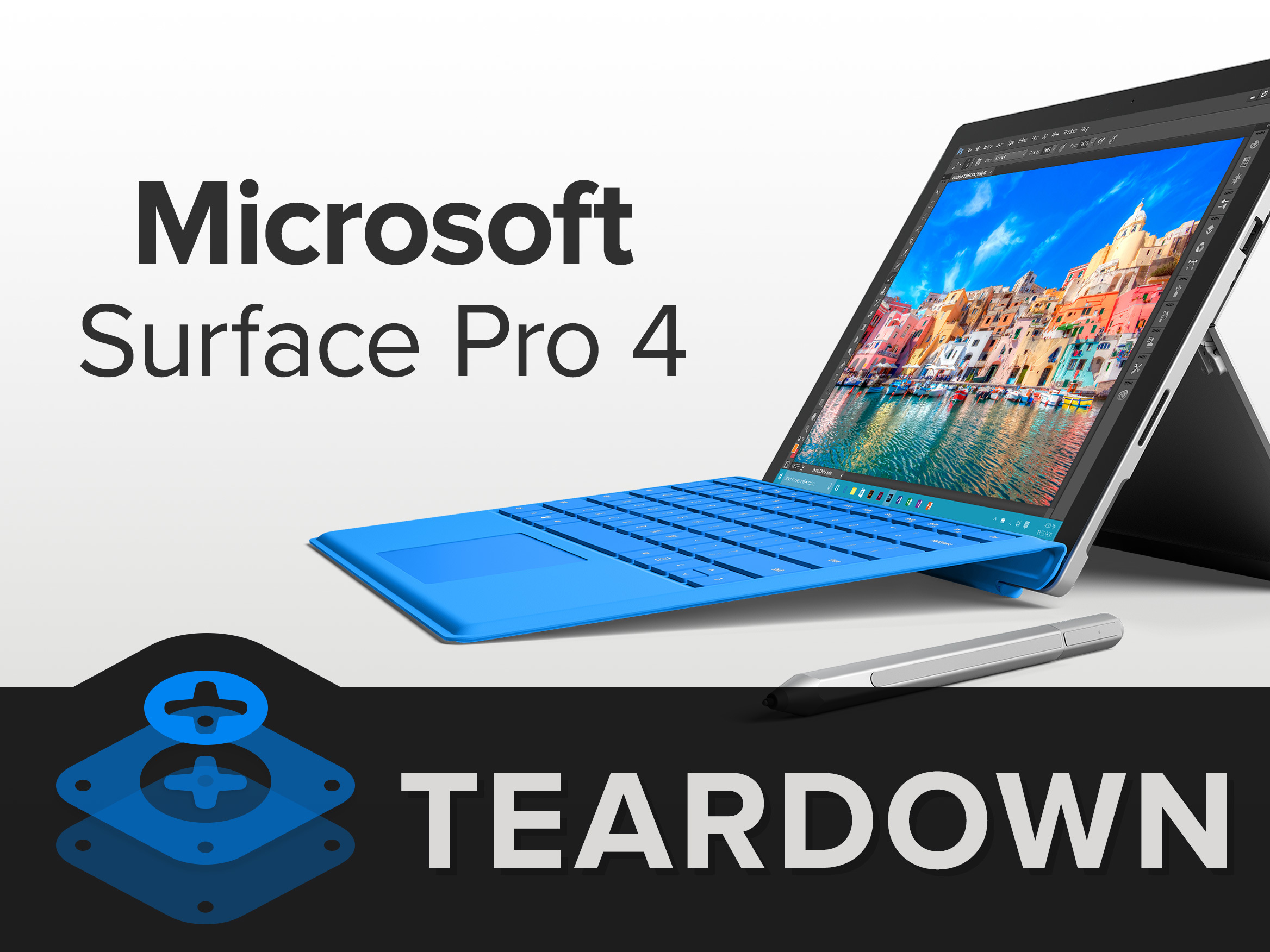 microsoft surface pro 4 teardown ifixit. Black Bedroom Furniture Sets. Home Design Ideas