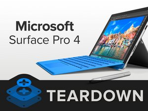 Microsoft Surface Pro 4 Teardown