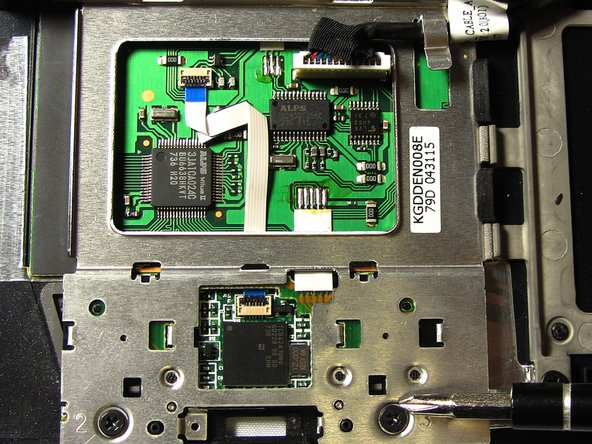 Dell Latitude D630 Touchpad Replacement
