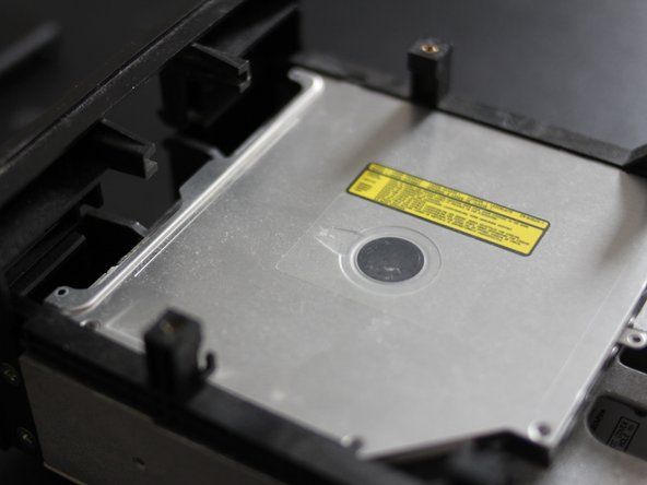 Picture 1: optical drive installed into body